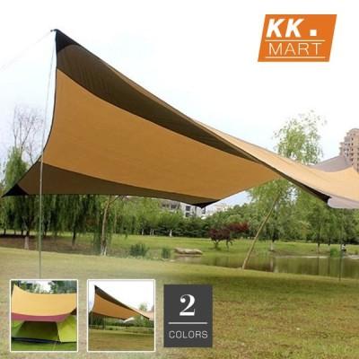 天幕テント 天幕シェード レジャーシート 防水 UVカット 組み立てやすい テント 紫外線カット キャンプ アウトドア シェルター ポータブル