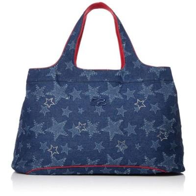 サボイ SAVOY(サボイ)全面に星がちりばめられたデニム素材のバッグ。 SM18100302 ブラウン