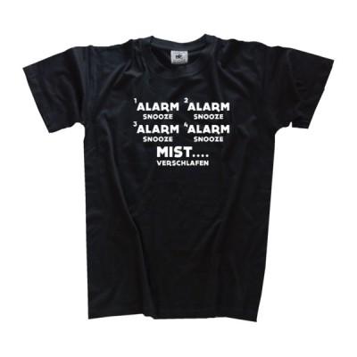 Tシャツ B&C Alarm - Snooze - Alarm - Snooze - Mist Sleepy Alarm School T-Shirt S - 3XL