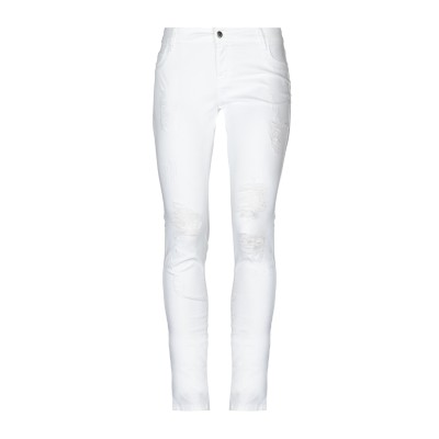 メット MET JEANS パンツ ホワイト 26 コットン 98% / ポリウレタン 2% パンツ