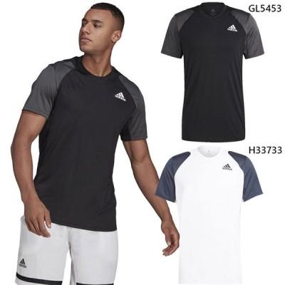 アディダス メンズ クラブ ティー CLUB TEE テニス バドミントンウェア トップス 半袖Tシャツ 22591