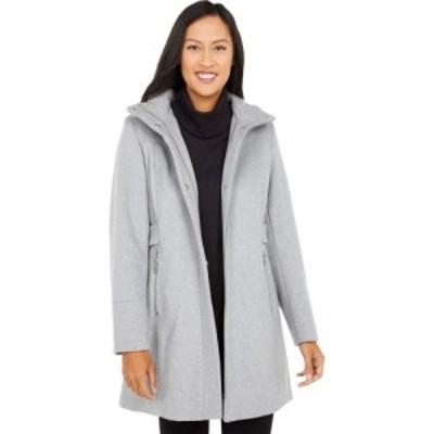 ヴィンス カムート Vince Camuto レディース コート フード アウター Hooded Wool Coat V20770-ZA Light Grey