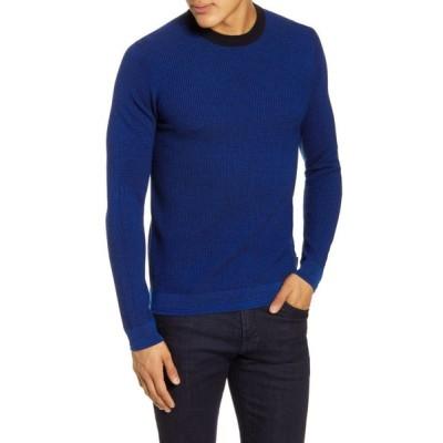 テッドベーカー TED BAKER LONDON メンズ ニット・セーター トップス Uno Slim Fit Wool Sweater Blue