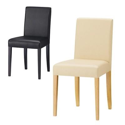 QUON(クオン) ランディ PVC ダイニングチェア ラウンジチェア 木製ダイニング椅子 幅420×奥行500×高さ815mm