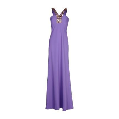 CLIPS ロングワンピース&ドレス ライトパープル 42 ポリエステル 94% / ポリウレタン 6% ロングワンピース&ドレス