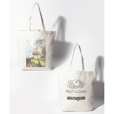 HIKA / FRUIT OF THE LOOM / FTL x ANNA PHOTO TOTE M WOMEN バッグ > トートバッグ