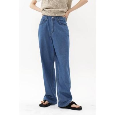 simplymood レディース ジーンズ gray denim pants