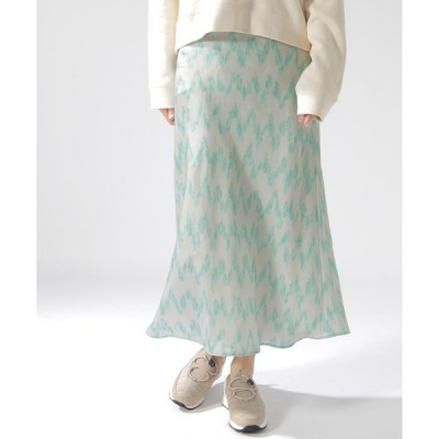 スカート ソフトマーメイドガラスカート