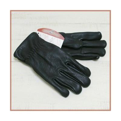 SULLIVAN GLOVE サリバングローブ メンズ ディアスキンレザーグローブ ブラック 黒 The Sierra Deer Skin Glove men Black 鹿革 フリース裏地 手袋 アメリカ製
