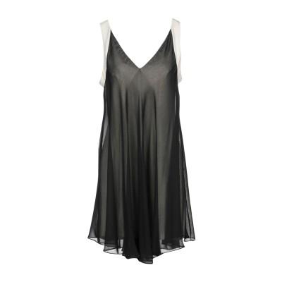HEFTY ミニワンピース&ドレス ブラック 42 ポリエステル 100% ミニワンピース&ドレス