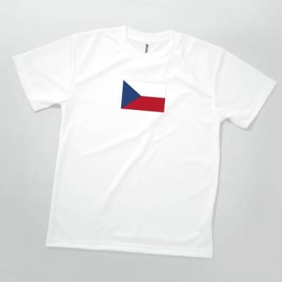 Tシャツ チェコ共和国 国旗