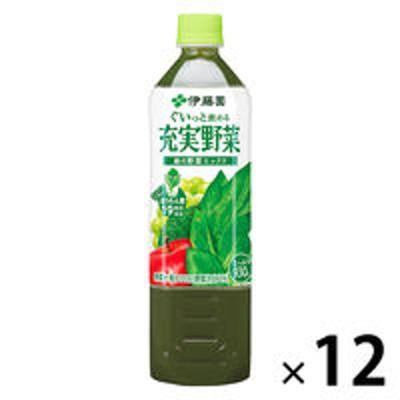伊藤園伊藤園 充実野菜 緑の野菜ミックス 930g 1箱(12本入) 【野菜ジュース】