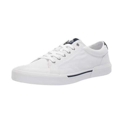 Sperry Mens Striper II Retro Sneaker, White, 7【並行輸入品】