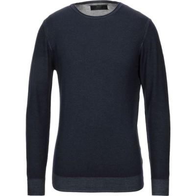 リウジョー LIU JO MAN メンズ ニット・セーター トップス sweater Slate blue