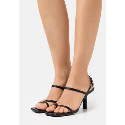 レディース 靴 シューズ SAWYER - T-bar sandals - black