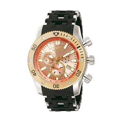 Invicta 13856メンズSea SpiderステンレススチールCaseポリウレタン腕時計 並行輸入品