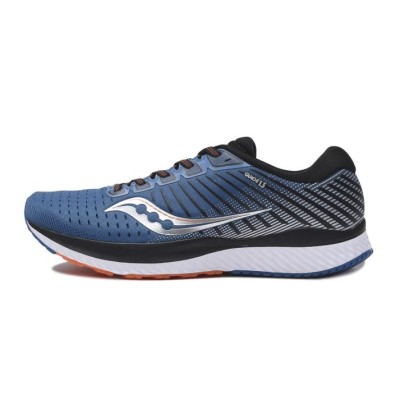 【SAUCONY】  GUIDE 13(WIDE) ガイド13 S20549-25 BLUE/SILVER 10H(28.5cm) ブルー