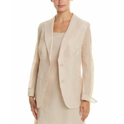 Akris アクリス ファッション 衣類 Akris Silk-Lined Jacket 12 Beige