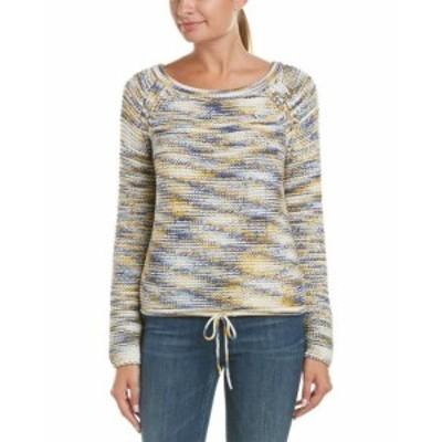 Theory セオリー ファッション トップス Theory Coella.Soft Chain Sweater M Blue