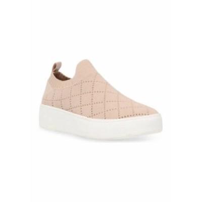 スティーブ マデン レディース スニーカー シューズ Women's Bequilt Knit Platform Sneakers BLUSH