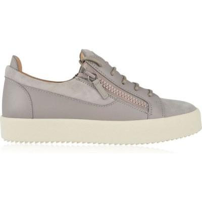 ジュゼッペ ザノッティ GIUSEPPE ZANOTTI メンズ スニーカー シューズ・靴 London Suede Trainers White/Grey