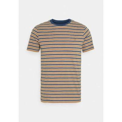 ファーラー Tシャツ メンズ トップス ALGINET TEE - Print T-shirt - cold metal