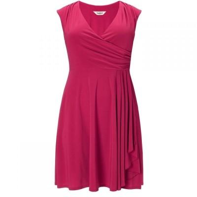 スタジオ8 Studio 8 レディース ワンピース ワンピース・ドレス Plus Size Pearl wrap dress Red