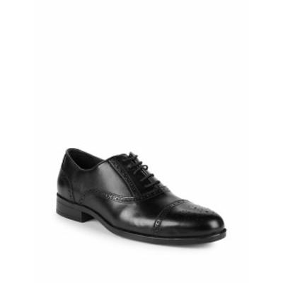 サックスフィフスアベニュー メンズ シューズ オックスフォード 革靴 Classic Leather Oxfords