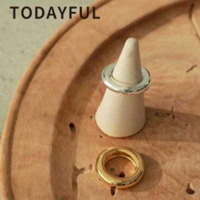 TODAYFUL 21夏 トゥデイフル Volume Circle Ring (Silver925) ボリュームサイクルリング 12110956 レディース アクセサリー 指輪 シルバ