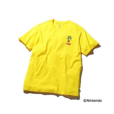 【リーバイス】 グラフィッククルーネックTシャツ YOSHI LC PATCH T2 YELLOW メンズ YELLOWS/ORANGES L- Levi's