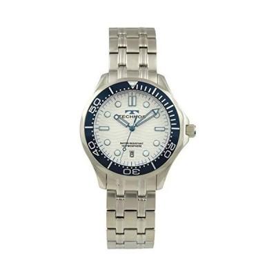 [テクノス] 腕時計 3針 デイト 10気圧防水 T9691SS メンズ シルバー