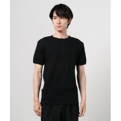 tシャツ Tシャツ AVIREX/アヴィレックス DAILY SS HENLEY NECK デイリー 半袖 ヘンリーネック Tシャツ