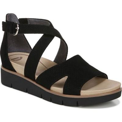 ドクター ショール Dr. Scholl's レディース サンダル・ミュール シューズ・靴 Good Karma Strappy Dress Sandals Black