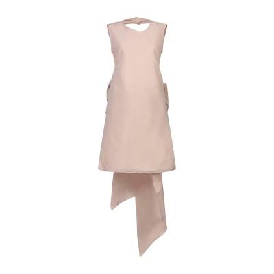 ヌメロ ヴェントゥーノ N°21 ミニワンピース&ドレス ベージュ 42 ポリエステル 100% ミニワンピース&ドレス