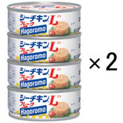 はごろもフーズはごろもフーズ シーチキンLフレークSP4 70g(1缶) 748122 1セット(4缶入×2個)