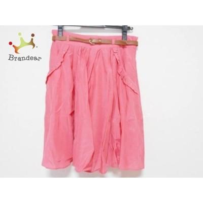 アプワイザーリッシェ Apuweiser-riche スカート サイズ「2」 レディース ピンク  スペシャル特価 20210313