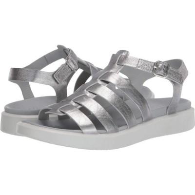 エコー ECCO レディース サンダル・ミュール シューズ・靴 Flowt LX Sandal Alusilver Cow Leather