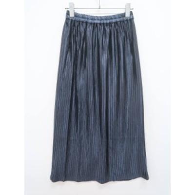 MOUSSY(マウジー)[2020]RANDOM PLEA TED MEDIUMスカート 紺 レディース 新品 F [委託倉庫から出荷]