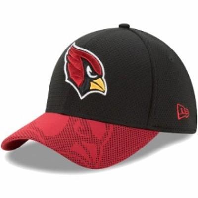 New Era ニュー エラ スポーツ用品  New Era Arizona Cardinals Black Visor Maze 39THIRTY Flex Hat