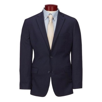 ムラノ メンズ ジャケット・ブルゾン アウター Big & Tall Wardrobe Essentials Classic-Fit Suit Separates Twill Blazer