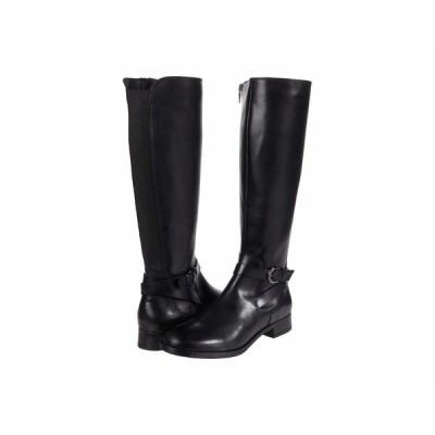 クラークス ブーツ&レインブーツ シューズ レディース Hamble High Black Leather