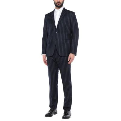 VITALE BARBERIS CANONICO スーツ ダークブルー 56 スーパー100 ウール 100% スーツ