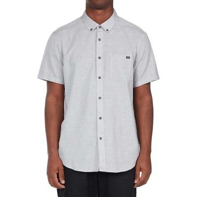 ビラボン シャツ メンズ トップス Billabong Men's All Day SS Shirt Light Grey