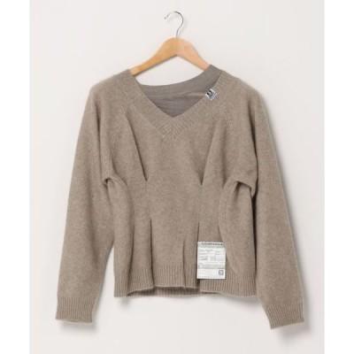 スウェット 【MAISON MIHARA YASUHIRO】ウエストタックスウェット/Waist tuck sweater