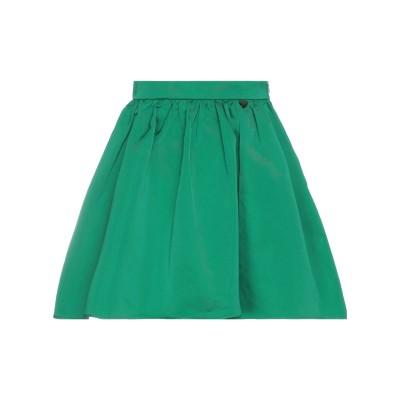 ツインセット シモーナ バルビエリ TWINSET ミディスカート グリーン 40 ポリエステル 100% ミディスカート