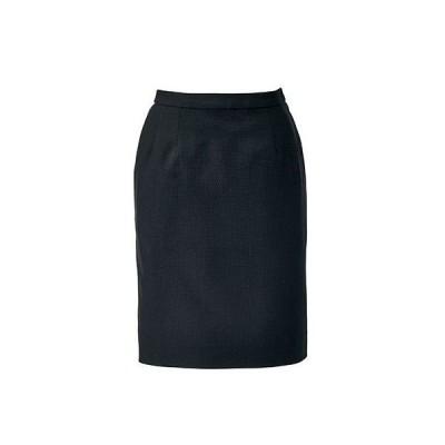 ボンマックス BONOFFICE タイトスカート ブラック 17号 AS2297-16 1着(直送品)