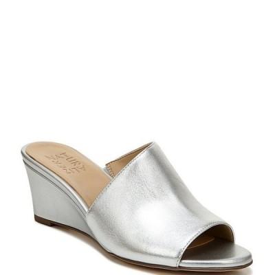 ナチュライザー レディース サンダル シューズ Sansa Leather Wedge Dress Sandals