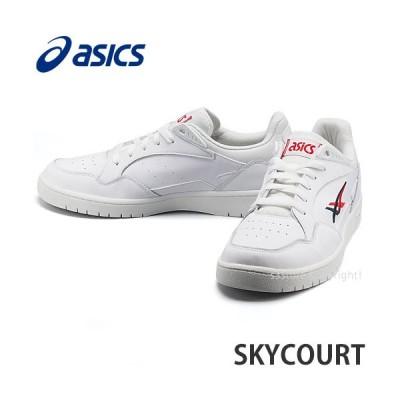 アシックス スカイコート asics SKYCOURT スニーカー シューズ 靴 メンズ タウンユース カジュアル 男性 MENS カラー:WHITE/MIDNIGHT