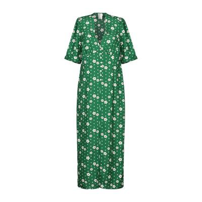 ノリータ NOLITA 7分丈ワンピース・ドレス グリーン II ポリエステル 100% 7分丈ワンピース・ドレス