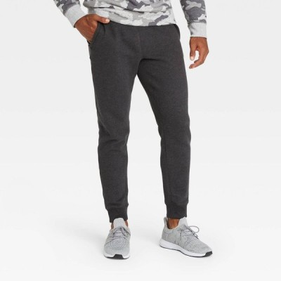 オールインモーション All in Motion メンズ ジョガーパンツ ボトムス・パンツ Fleece Jogger Pants - Charcoal Gray